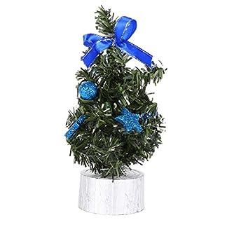 Urmagic-Mini-LED-Weihnachtsbaum-klein-Knstlicher-Tannenbaum-mit-LED-Lichterkette-Beleuchtung-und-Baumschmuck-Weihnachtskugeln-Knstliche-Weihnachtsbume-weihnachts-Desktop-dekoration