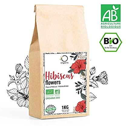 HIBISKUSTEE-BIO-1kg-Hibiskusblten-getrocknet-fr-Tee-Frchtetee-Eistee-Karkade-tee-Hibiskus-Tee-fr-Drainage-Detox-Kur