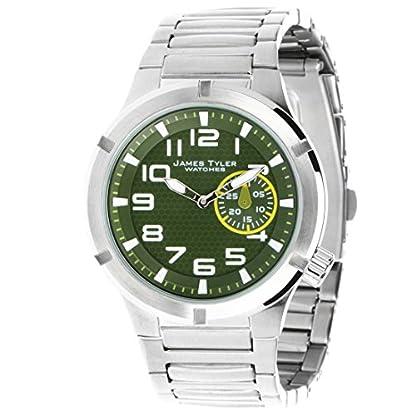 James-Tyler-Herren-Armbanduhr-Quarz-Werk-Edelstahlband-gebrstet-JT703-1