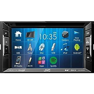 JVC-Autoradio-2-DIN-Spotify-Control-mit-Bluetooth-fr-Audi-TT-8J-2006-2014-mit-Bose-incl-Einbauset-schwarz