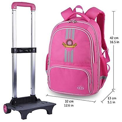 Trolley-Rucksack-Coofit-Schultrolley-Schulrucksack-Trolley-Kinder-Schulranzen-Trolley-Kinderkoffer-Trolley-Tasche-fr-Mdchen-Jungen