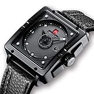 Herren-Uhren-Manner-Wasserdicht-Sport-Schwarz-Leder-Design-Armbanduhr-Mann-Business-Mode-Einfach-Lssige-Analog-Quarzwerk-Uhr