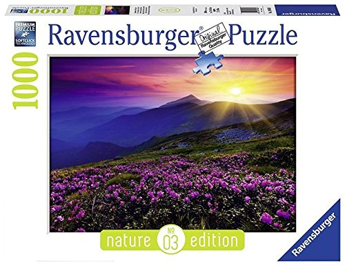 Ravensburger-19608-Puzzle-Nature-Edition-Bergwiese-im-morgenrot