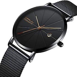 Minimalist-Mens-Watch-Analogue-Quartz-Mesh-Strap-Thin-Slim-Wrist-Watches-for-Man