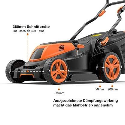 Rasenmher-Tacklife-1600W-Elektro-Rasenmher-mit-38cm-Schnittbreite-und-6-Facher-Hhen-Einstellung-25-75-mm-3-in-1-Rasenmher-mit-Kabel-und-40L-Grasflche-fr-Groe-Rasenflchen
