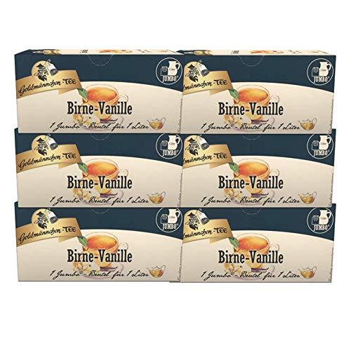 Goldmnnchen-TEE-JUMBO-Birne-Vanille-6er-Pack