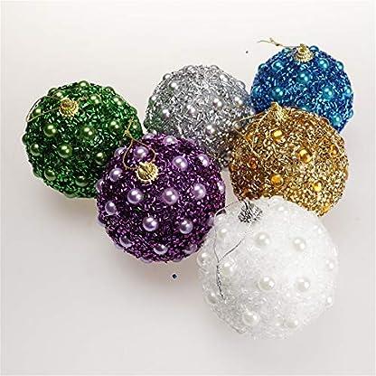 FeiliandaJJ-8CM-Weihnachten-Kugeln-Strass-Perlen-Pailletten-Blle-Weihnachten-Baum-Ornament-Party-Hochzeit-Dekoration