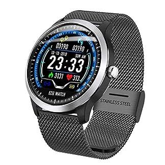 YZ-YUAN-Sport-Fitness-Tracker-Intelligente-Uhr-mit-KOSTENLOSEM-austauschbarem-Band-Herzfrequenz-Blutdruck-Blutsauerstoff-Schlafmonitor-Kalorien-Schrittzhler-fr-Schwimmlauf