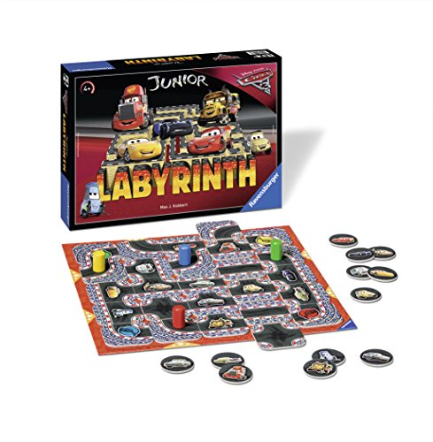 Ravensburger-21273-DisneyPixar-Cars-3-Junior-Labyrinth-Kinderspiel