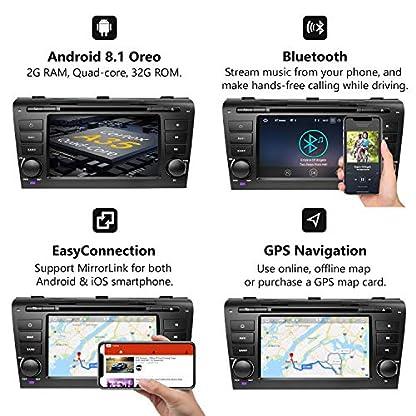 eonon-GA9251B-fr-Mazda-3-2004-2009-Android-81-2G-RAM-32G-ROM-Quad-Core-178-cm-7-Zoll-LCD-Touchscreen-DVD-GPS-USB-FM-RDS-kompatibel-mit-Bose-System-untersttzt-Bluetooth-4G-WiFi-Lenkradsteuerung