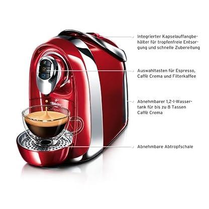 Tchibo-Cafissimo-Compact-Kapselmaschine-950-Watt-12-Liter-Wassertank-fr-Kaffee-Espresso-und-Caff-Crema-Deep-Black