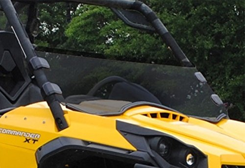 Super-ATV-Can-Am-Commander-8001000-Half-Windshield-Tinted-by-Super-ATV