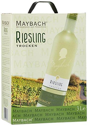 maybach weißer burgunder trocken weißwein bag-in-box (1 x 3 l