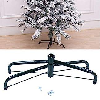 Ablerfly-304060CM-Christbaumstnder-Weihnachtsbaumstnderklappbarer-Weihnachtsbaumstnder-Metallstnderzubehr-fr-Weihnachtsdekorationen-zum-Schutz-des-Bodens-justifiable