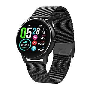 Chenang-Fitness-Armbanduhr-Wasserdicht-Smart-Watch-Fitness-trackers-Sport-Uhr-mit-Schrittzhler-Pulsmesser-Kamerasteuerung-Musiksteuerung-Schlaf-Monitor-Call-SMS-Android-IOS-Handy