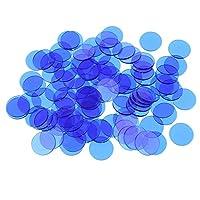Sharplace-100pcs-Bingo-Chips-Set-Transparent