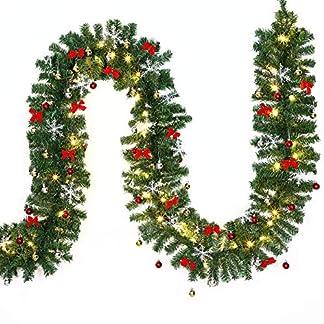 Casaria-Weihnachtsgirlande-Tannengirlande-Tannenzweiggirlande
