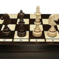Schachspiel-INDISCH-48cm-geschnitzt-gute-qualitt