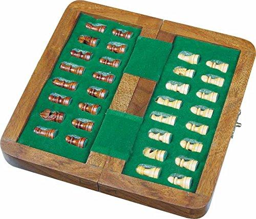 Zap-Impex–Holz-magnetischen-Reis-Schach-Falten-Schachbrett-10-Zoll