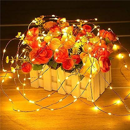20-LED-Solar-Lichterkette-goodjinHH-2M-Solar-Kupferdraht-Lichterkette-Solarbetriebene-IP65-Wasserdichte-Lichterkette-Lichterkette-auen-fr-Party-Weihnachten-Fest-Deko-usw-Warmwei
