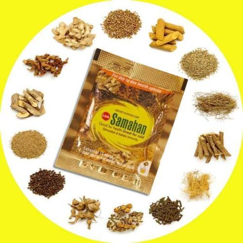 Krutertee-Samahan-ayurveda-ayurvedic-herbal-natrlicher-Tee-gute-und-effektive-Vorbeugung-und-Linderung-von-Erkltungen-und-erkltungsbedingten-Symptomen-60-Pckchen-je-4g