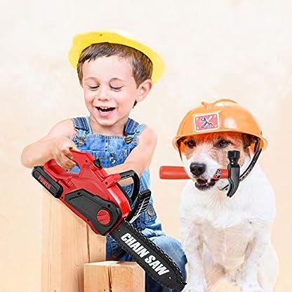 Ucradle-Werkzeugkoffer-25-Stcke-fr-Kinder-Pdagogisches-Lernen-Spielwerkzeug-Rollenspiele-Spielset-Geschenk-fr-3-8-jhrige-Mdchen-Jungen
