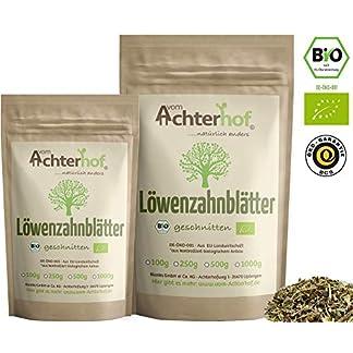 Lwenzahntee-BIO-100g-Lwenzahnbltter-Tee-getrocknet-vom-Achterhof