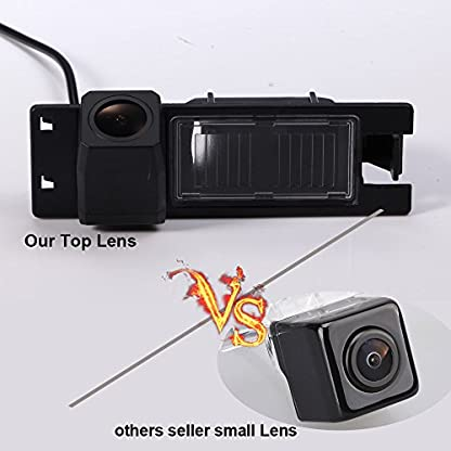 Dynavision-Super-HD-pro-Rckfahrkamera-wasserdicht-Nachtsicht-Auto-Rckansicht-Kamera-Einparkhilfe-Rckfahrsystem-Kennzeichenleuchte-Schwarz-fr-New-LacrosseAstra-HZafira-BCorsa-DVectra-C