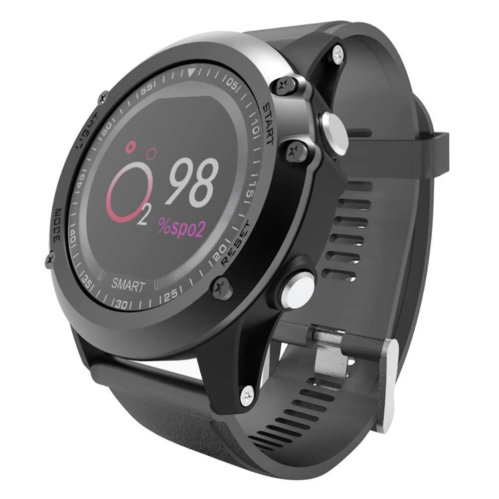 Milnnare-Wasserdichtes-Bluetooth-Herzfrequenz-Messgert-Sport-Armband-Smart-Armbanduhr-fr-iOS-Android