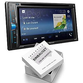 Pioneer-AVHA210-2-DIN-Mediacenter-Bluetooth-USB-Aux-Bluetooth-passend-fr-Mercedes-M-Klasse