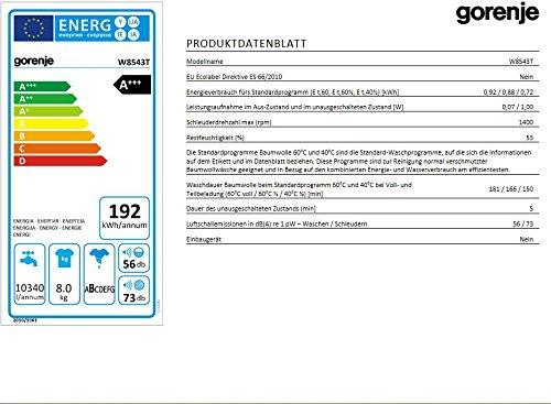 Gorenje-Waschmaschine-FLA192-kWhJahr1400-UpM8-kg10340-LiterJahrTotaler-AquaStopKontrollsensor