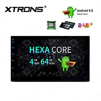 XTRONS-7-6-Core-Android-Double-DIN-Autoradio-mit-Touchscreen-Auto-Multimedia-Player-Android-90-Hexa-Core-Autostereo-2DIN-HDMI-Ausgang-4G-Bluetooth-4GB-RAM-64GB-ROM-DAB-OBD2-TPMS-UNIVERSAL