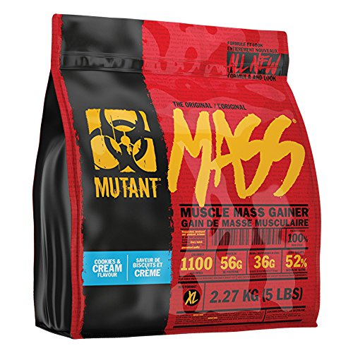 Mutant Mass – Cookies & Cream – 2200g, 1er Pack (1 x 2.2 kg)