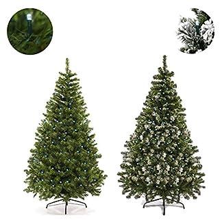 Andreas-Dell-Weihnachtsbaum-120-210cm-Grn-mit-Schnee-Effekt-LED-Christbaum-Knstlicher-Tannenbaum-Kunstbaum-Weihnachten