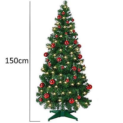 Deuba-Weihnachtsbaum-knstlicher-Christbaum-Tannenbaum-Stecksystem-Weihnachten-Christbaumstnder-Tanne-Lichterkette