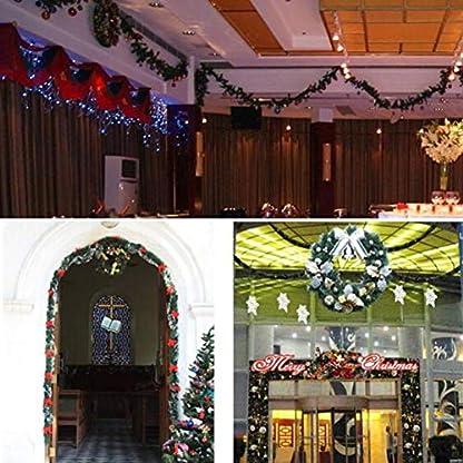 Weihnachtsgirlande-Knstliche-Tannengirlande-Innen-Und-Auen-Deko-Fr-Weihnachten-Party-Fenster-Besondere-Ferien-Trdekoration-Von-332PageAnn