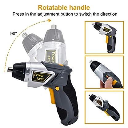 Powerland-36V-Li-ion-Wiederaufladbarer-Schraubendreher-36V-Home-Repair-Schraubendreher-Li-Ion-Akku-LED-USB-Stecker-