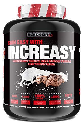 #sinob Increasy – High Quality Weight Gainer. Glutenfrei Mit Proteinen Und Kohlenhydraten. Optimal Für Hardgainer und Masseaufbau. 1 x 3500g (Schokolade Sahne)