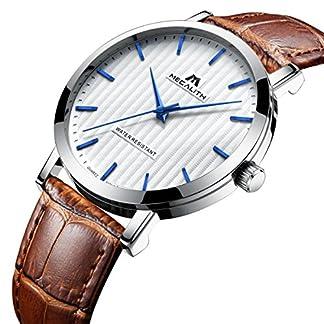 Herren-Uhren-Mnner-30M-Wasserdicht-Sport-Luxus-Kleid-Analog-Quarz-Braun-Echtes-Lederband-Uhr-Herren-Klassisch-Mode-Einfach-Design-Casual-Dnn-Armbanduhr-mit-Wei-Zifferblatt