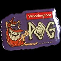 POGS-1994-Waddingtons-POGMAN-PIN-BADGE-Sealed-SUPER-ULTRA-RARE-POG-SHOP