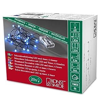 Globelichterketten-batteriebetrieben