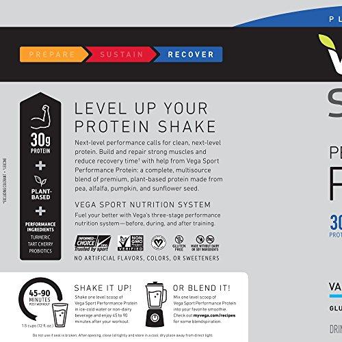 Vega Sport Protein Vanilla, 828 g