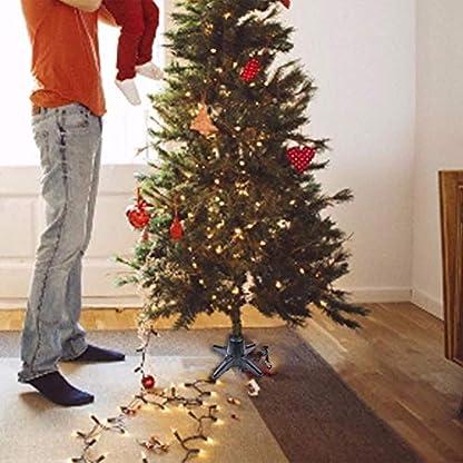 Um-360-Grad-drehbarer-Weihnachtsbaumstnder-Elektrischer-Weihnachtsbaum-Drehsockel-fr-knstlichen-Weihnachtsbaum-mit-einer-Lnge-von-bis-zu-75-Fu