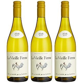 Famille-Perrin-La-Vieille-Ferme-Vin-De-France-Blanc-Bourboulenc-2018-Trocken-3-x-075-l
