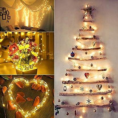 Solar-Lichterkette-Aussen-BrizLabs-2-Pack-100-LED-Auen-Kupferdraht-Lichterkette-Wasserdicht-8-Modi-Solarbetriebene-Sternen-Lichterkette-Innen-fr-Weihnachten-Party-Garten-Hochzeit-Deko-Warmwei