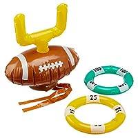 Preis-am-Stiel-Aufblasbares-Wurfspiel-Football-Outdoor-Spiele-fr-Kinder-Ringwurfspiel-Spiele-fr-drauen-Geschenkidee-fr-Jungen-Mdchen-Outdoor-Spielzeug-Spielzeug-fr-Kinder