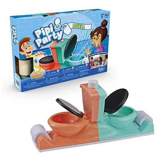 Hasbro-Spiele-E3257100-PIPI-Party-Duell-Kinderspiel-Multicolor