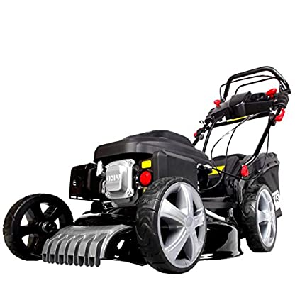 BRAST-Benzin-Rasenmher-44kW-6PS-Elektrostart-variabler-Radantrieb-51cm-Schnittbreite-60L-Fangkorb-GT-Getriebe-4-Takt-Motor-TV