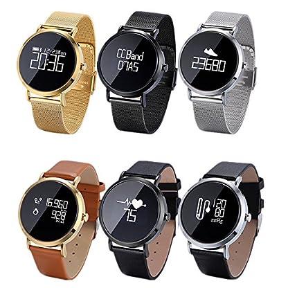 Freitop-Fitness-Armbanduhr-mit-Herzfrequenz-Blutdruck-Pulsmesser-Damen-Herren-CV08-Wasserdicht-IP67-Smart-Pulsuhr-Fitness-Tracker-Anruf-SMS-Vibration-Kompatibel-mit-Android-ios-Apple-iPhone-Bluetooth