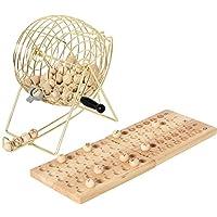 Hot-10009-18-cm-Metall-Cage-Bingo-Set